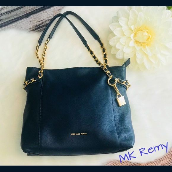 a3de621ea910 Michael Kors Bags | Sold Remy Med Tote In Admiral | Poshmark